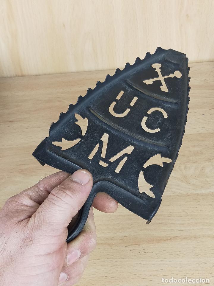 Antigüedades: pie plancha de carbon en forja - Foto 3 - 246713305