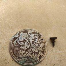 Antigüedades: ANTIGUA TAPA EMBELLECEDOR CUERPO DE MÁQUINA DE COSER SINGER. Lote 246744235