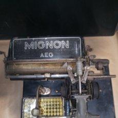 Antigüedades: MIGNON AEG. Lote 246754260