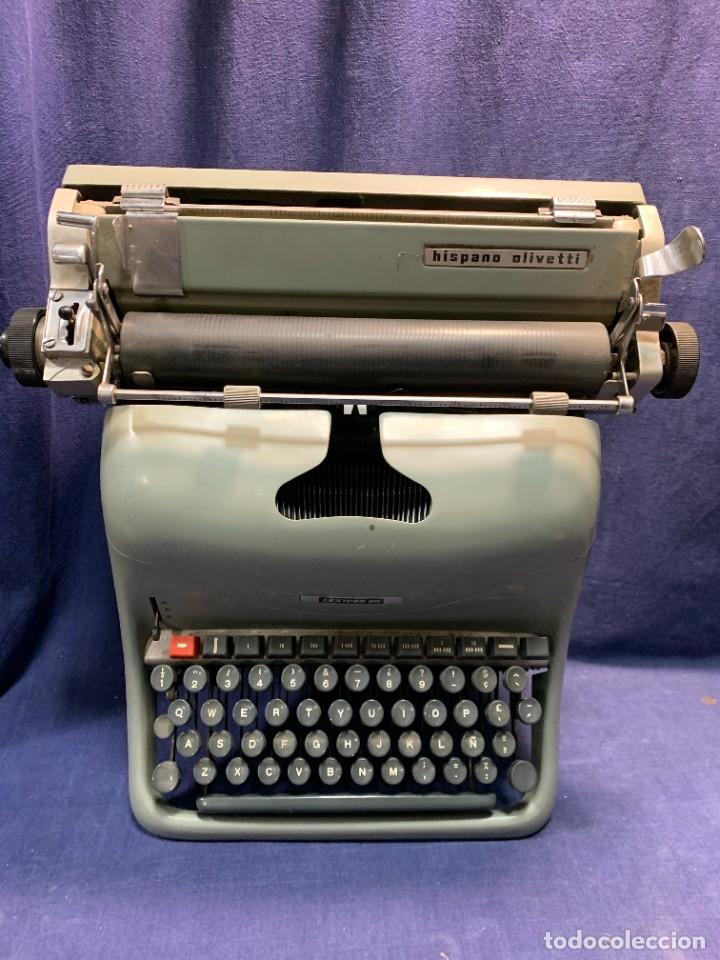 MAQUINA ESCRIBIR HISPANO OLIVETTI LEXICON 80 (Antigüedades - Técnicas - Máquinas de Escribir Antiguas - Otras)