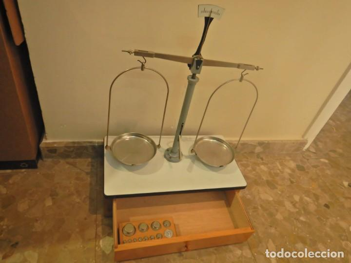 BALANZA DE PRECISION JOYERIA (Antigüedades - Técnicas - Medidas de Peso - Balanzas Antiguas)