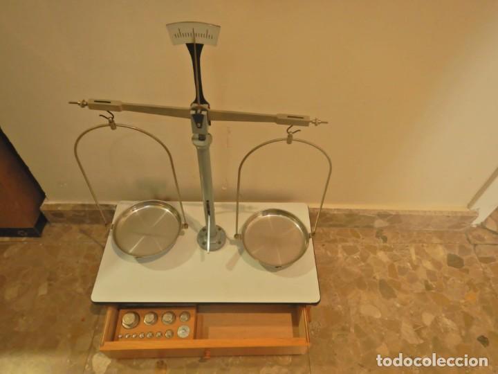 Antigüedades: Balanza de precision joyeria - Foto 3 - 246820435