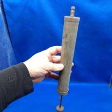 Antiquités: BOMBA DE AIRE MANUAL DE BRONCE. Lote 247004400