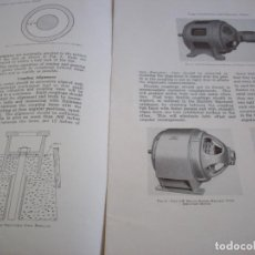 Antigüedades: ANTIGUO MANUAL DE INSTRUCCIONES WESTINGHOUSE - LARGE SYNCHRONOUS AND INDUCTION MOTORS 1945. Lote 247076585