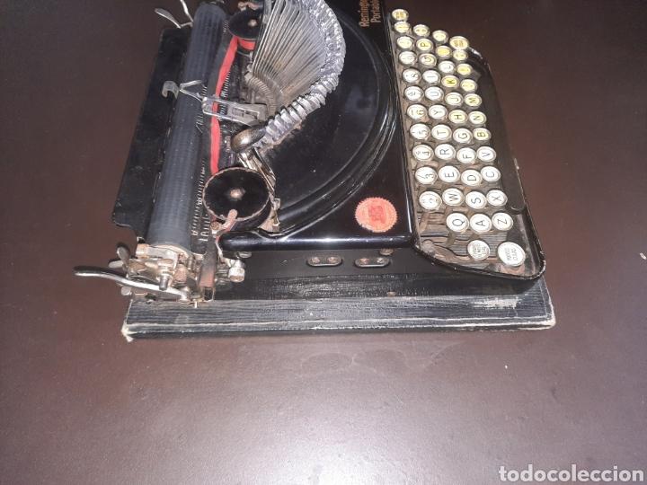 Antigüedades: Remington portable,con su tapa. - Foto 5 - 247116695