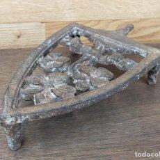 Antigüedades: PIE EN FORJA PLANCHA. Lote 247127215