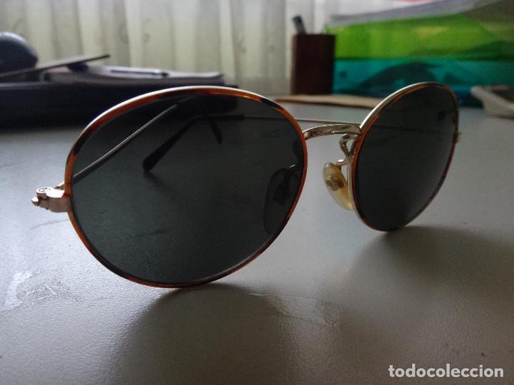 ANTIGUAS GAFAS DE SOL AÑOS 80 (Antigüedades - Técnicas - Instrumentos Ópticos - Gafas Antiguas)
