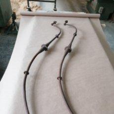 Antigüedades: FIADORES DE MESA EN FORJA. Lote 247270875