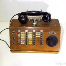 Teléfonos: CENTRALITA DE TELÉFONOS FRANCESA - AÑOS 30. Lote 247294255