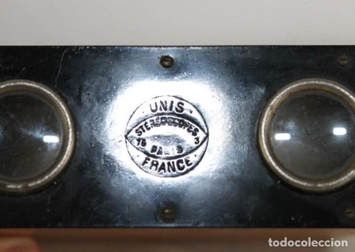 Antigüedades: Visor estereoscopica stereoscope Unis France Paris - Foto 2 - 247355390