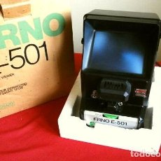 Antigüedades: ERNO E-501 VISOR EDITOR MANUAL DE PELICULAS - EDITOR VISIONNEUSE VIEWER CINE 8 Y SUPER 8 - MOVIOLA. Lote 247363255