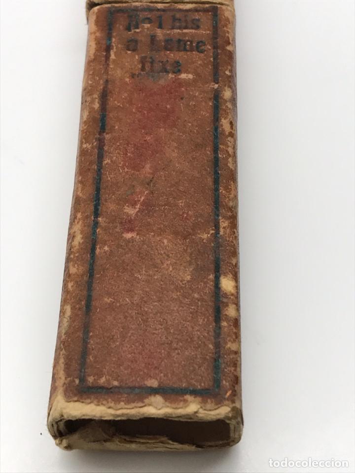 Antigüedades: Antigua navaja de colección con foto Pradere 1850 - Foto 7 - 247418775