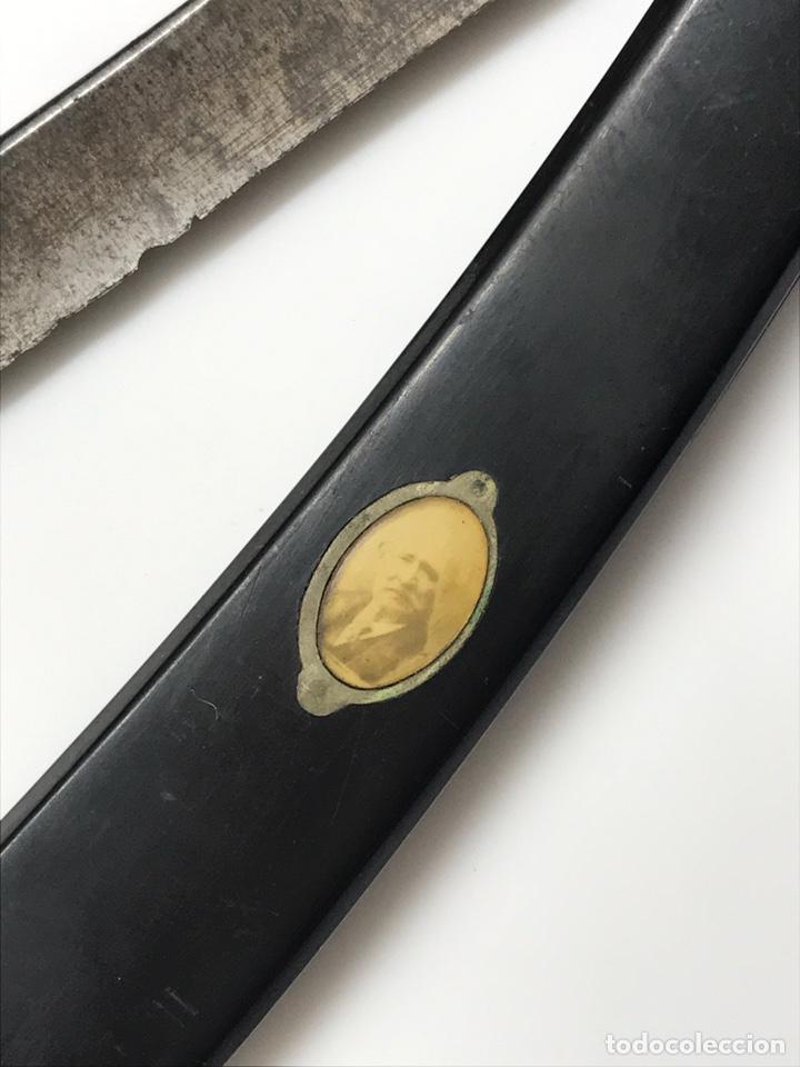 ANTIGUA NAVAJA DE COLECCIÓN CON FOTO PRADERE 1850 (Antigüedades - Técnicas - Barbería - Navajas Antiguas)
