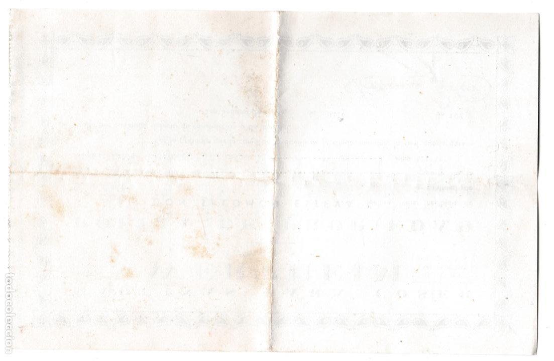 Antigüedades: PÓLIZA PROPIEDAD MÁQUINAS PARA COSER WERTHEIM - 1949 - Foto 2 - 247692350