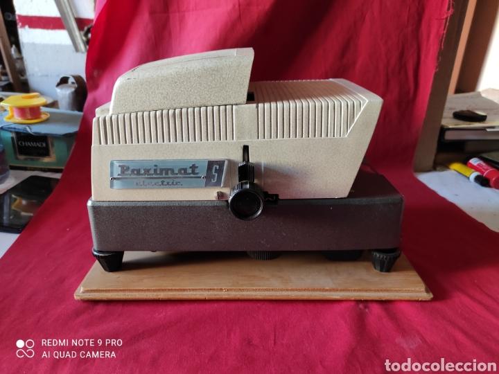 Antigüedades: Antiguo proyector de diapositivas la marca BRAUN NURNBERG MODELO Paximat- n⁰ 12 - Foto 3 - 247739665