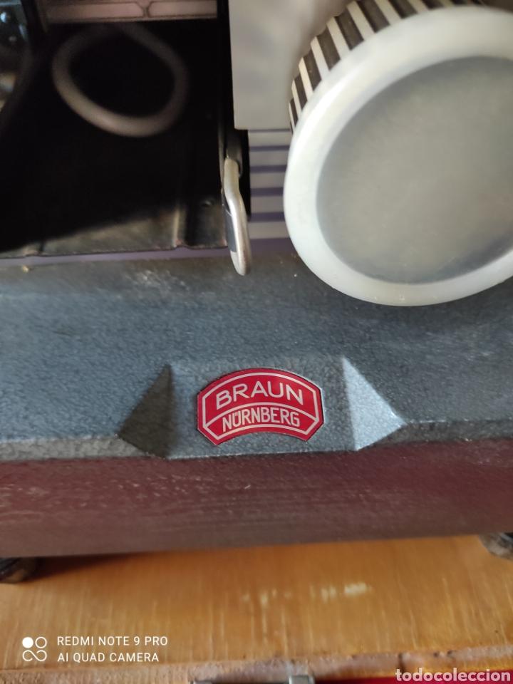 Antigüedades: Antiguo proyector de diapositivas la marca BRAUN NURNBERG MODELO Paximat- n⁰ 12 - Foto 7 - 247739665
