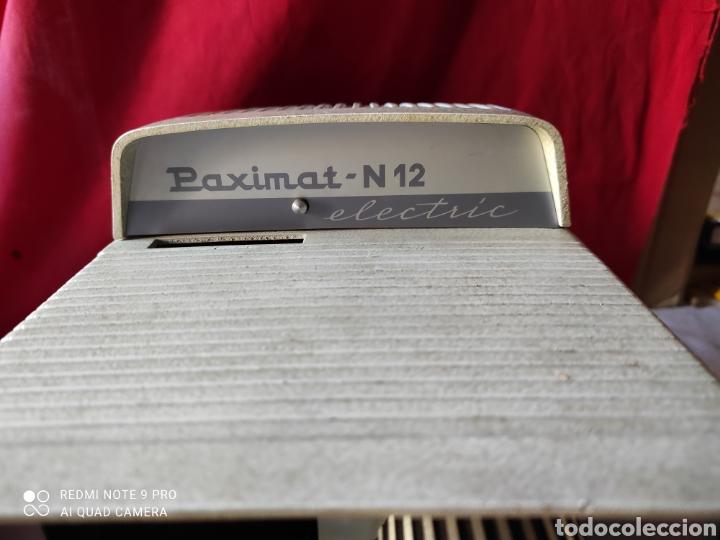 Antigüedades: Antiguo proyector de diapositivas la marca BRAUN NURNBERG MODELO Paximat- n⁰ 12 - Foto 8 - 247739665
