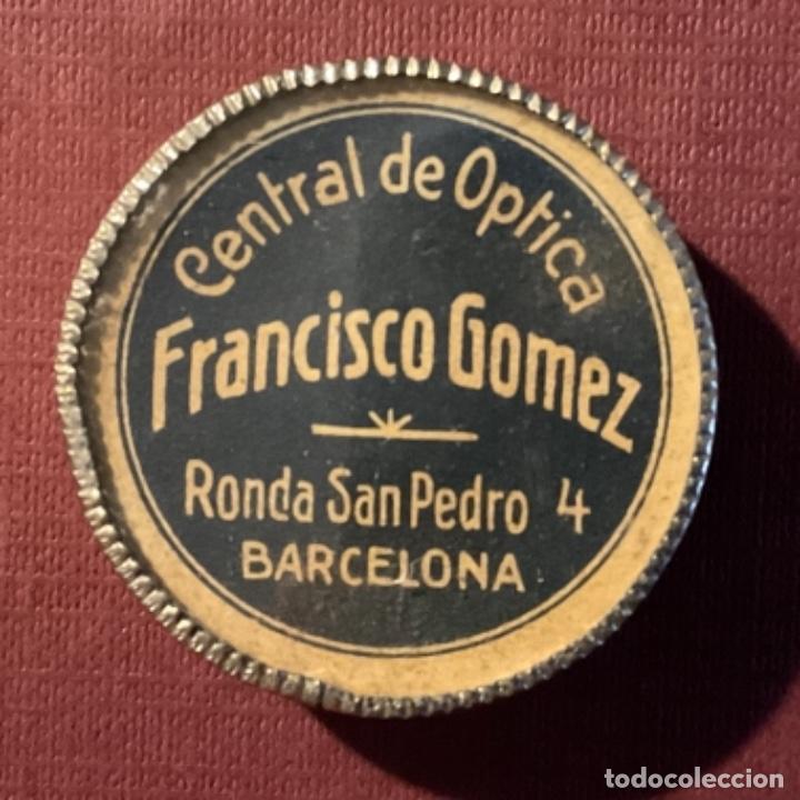 Antigüedades: Brújula antigua publicitaria de Central Optica Francisco Gomez - Foto 5 - 247746980
