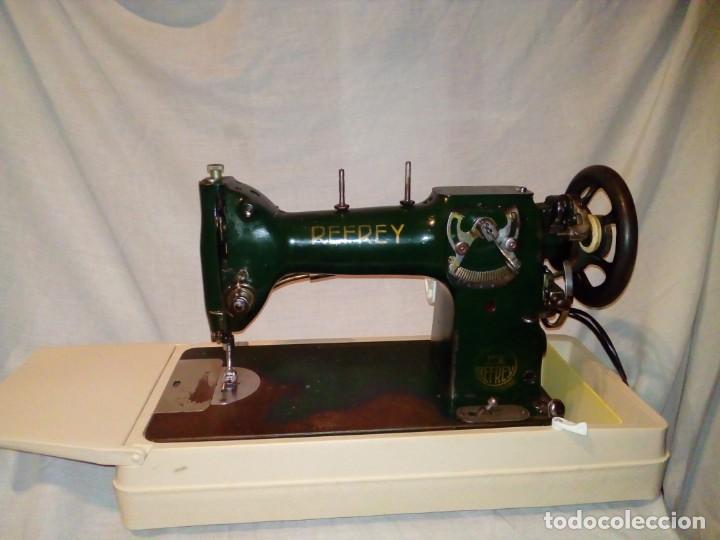 Antigüedades: maquina de coser REFREY - Foto 2 - 247808095