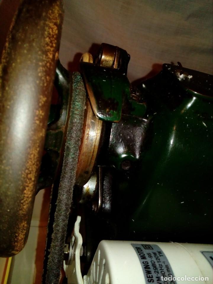 Antigüedades: maquina de coser REFREY - Foto 10 - 247808095