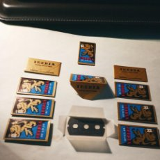 Antigüedades: LOTE DE 10 HOJAS DE AFEITAR - IBERIA DE LUJO. A ESTRENAR. 3 AGUJEROS. DESCRIPCION Y FOTOS.. Lote 247946840