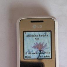 Teléfonos: MÓVIL LG LG COLECCIONISTA ANTIGUO. FUNCIONA. VER FOTOS.. Lote 247981260