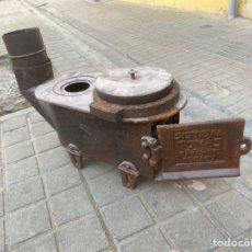 Antigüedades: COCINA ESTUFA ANTIGUA, SISTEMA TOMAS.PRINCIPIO SIGLO XX. Lote 248142880