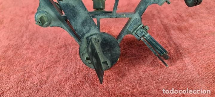 Antigüedades: SEXTANTE. E. LOVREUX. SUCC. DE SCHWARTZ. PARIS Nº 534. BRONCE. SIGLO XIX. - Foto 3 - 248193710