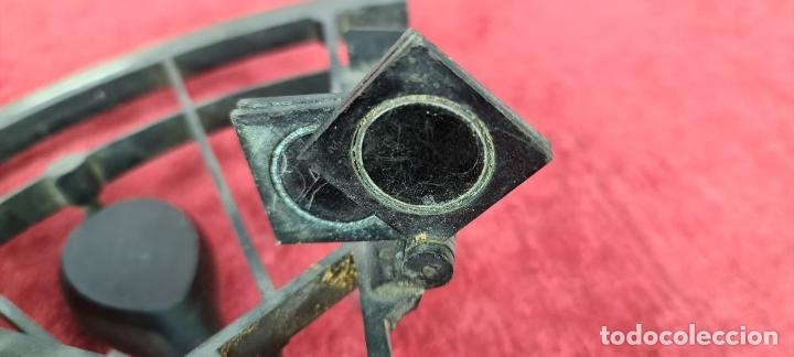Antigüedades: SEXTANTE. E. LOVREUX. SUCC. DE SCHWARTZ. PARIS Nº 534. BRONCE. SIGLO XIX. - Foto 13 - 248193710