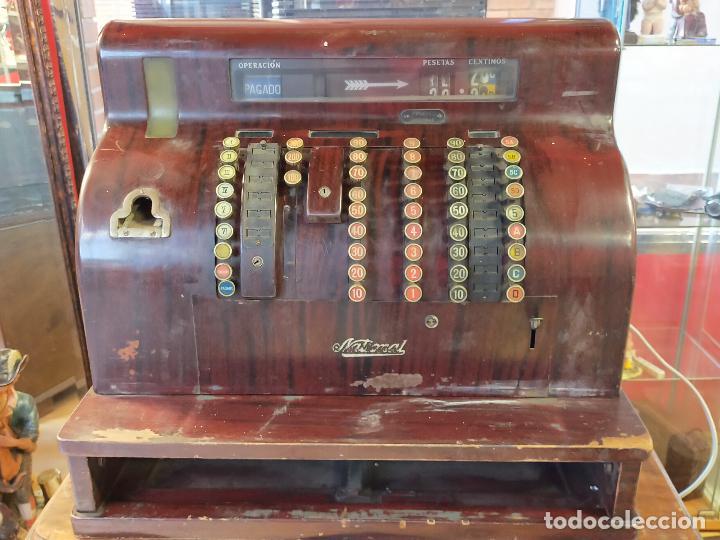 MAQUINA REGISTRADORA NATIONAL PARA RESTAURAR O PIEZAS - VER FOTOS (Antigüedades - Técnicas - Aparatos de Cálculo - Cajas Registradoras Antiguas)