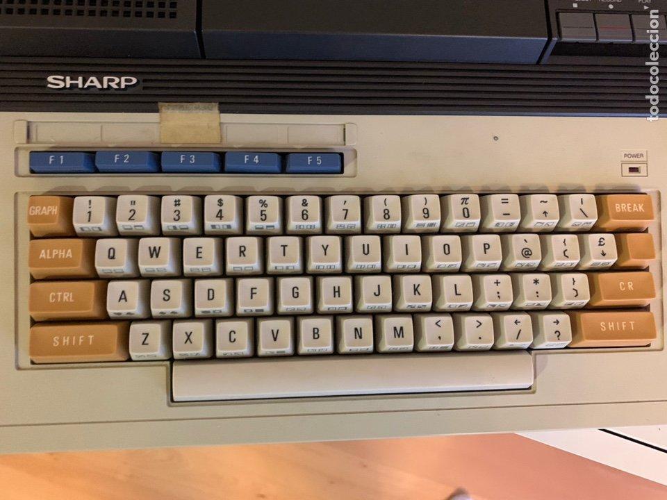 Antigüedades: SHARP 700. Personal Computer. - Foto 9 - 248507305