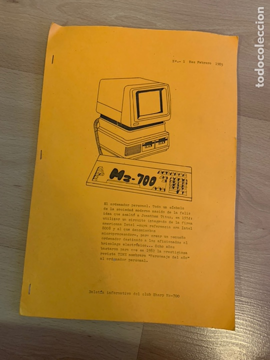 Antigüedades: SHARP 700. Personal Computer. - Foto 13 - 248507305
