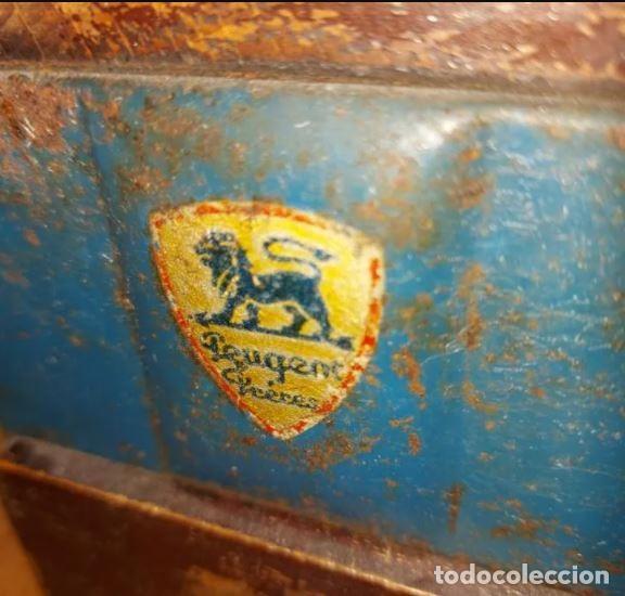 Antigüedades: Centenario molinillo de café francés en uso Peugeot Frères - Foto 3 - 248570550