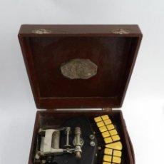 Antigüedades: MÁQUINADE ESCRIBIR STEONOTIPE MARCA GRANDJEAN, FAFRICADA EN FRANCIA EL AÑOS 40/50 Y NÚMERO 19252. CO. Lote 248708205