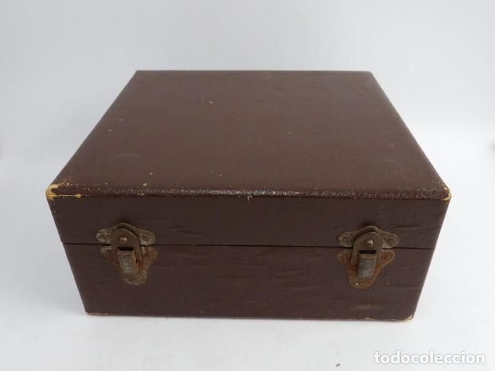 Antigüedades: Máquinade escribir Steonotipe marca GRANDJEAN, fafricada en Francia el años 40/50 y número 19252. Co - Foto 14 - 248708205