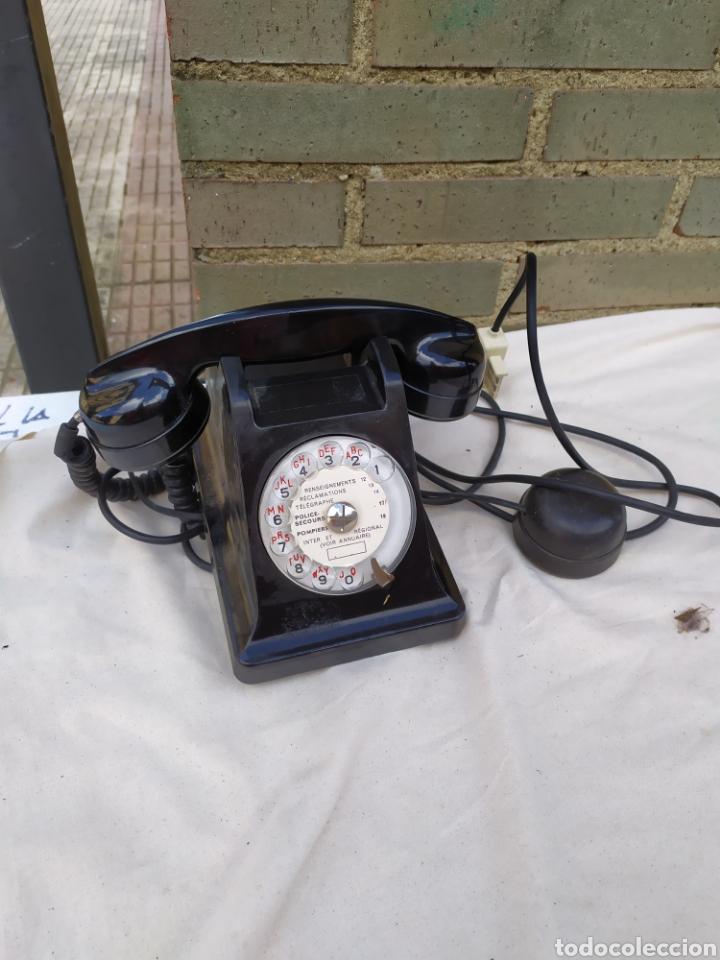 ANTIGUO TELÉFONO DE BAQUELITA (Antigüedades - Técnicas - Teléfonos Antiguos)