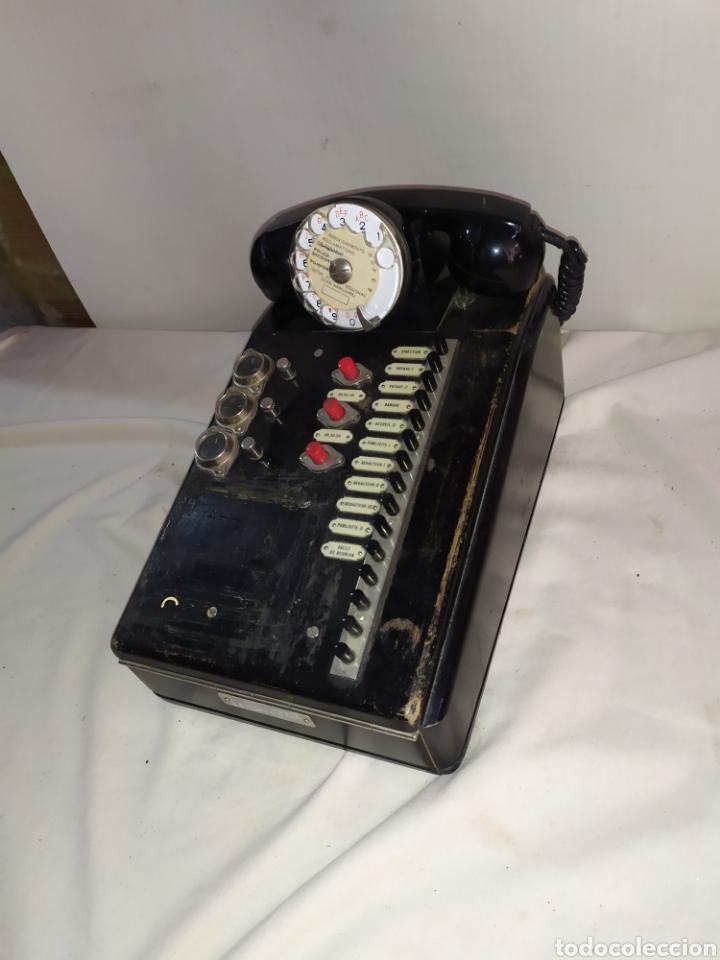 IMPRESIONANTE CENTRALITA TELEFÓNO SIGLO XIX (Antigüedades - Técnicas - Teléfonos Antiguos)