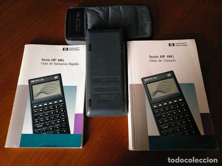 Antigüedades: CALCULADORA HP 48G+ HEWLETT PACKARD 128K RAM 1993 RPN FUNCIONANDO CON FUNDA MANUALES INSTRUCCIONES - Foto 5 - 248802725