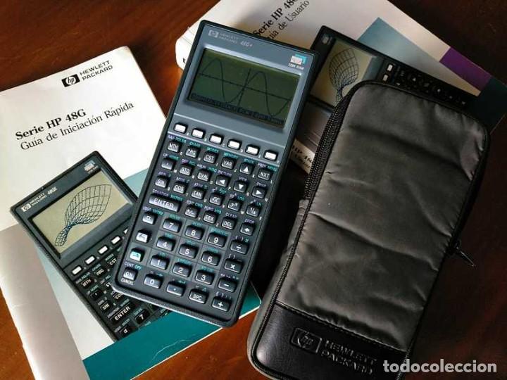 Antigüedades: CALCULADORA HP 48G+ HEWLETT PACKARD 128K RAM 1993 RPN FUNCIONANDO CON FUNDA MANUALES INSTRUCCIONES - Foto 31 - 248802725