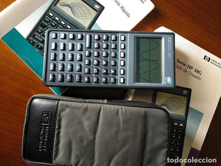 Antigüedades: CALCULADORA HP 48G+ HEWLETT PACKARD 128K RAM 1993 RPN FUNCIONANDO CON FUNDA MANUALES INSTRUCCIONES - Foto 33 - 248802725
