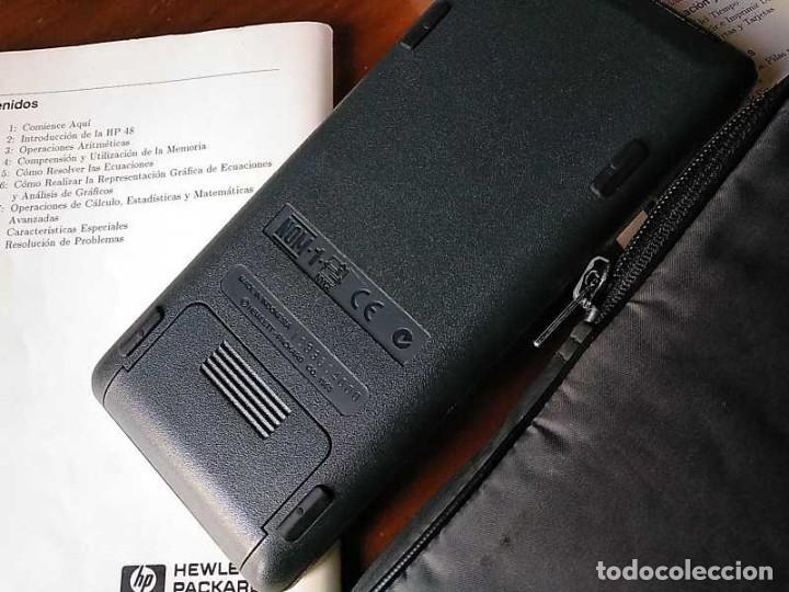 Antigüedades: CALCULADORA HP 48G+ HEWLETT PACKARD 128K RAM 1993 RPN FUNCIONANDO CON FUNDA MANUALES INSTRUCCIONES - Foto 35 - 248802725