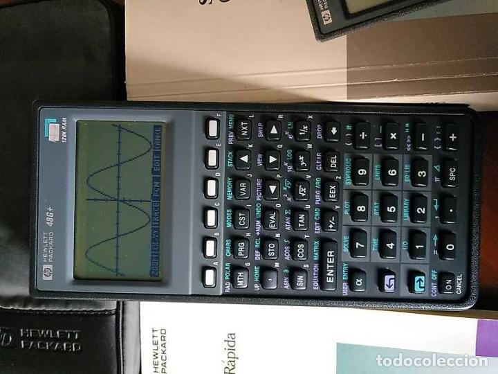 Antigüedades: CALCULADORA HP 48G+ HEWLETT PACKARD 128K RAM 1993 RPN FUNCIONANDO CON FUNDA MANUALES INSTRUCCIONES - Foto 40 - 248802725