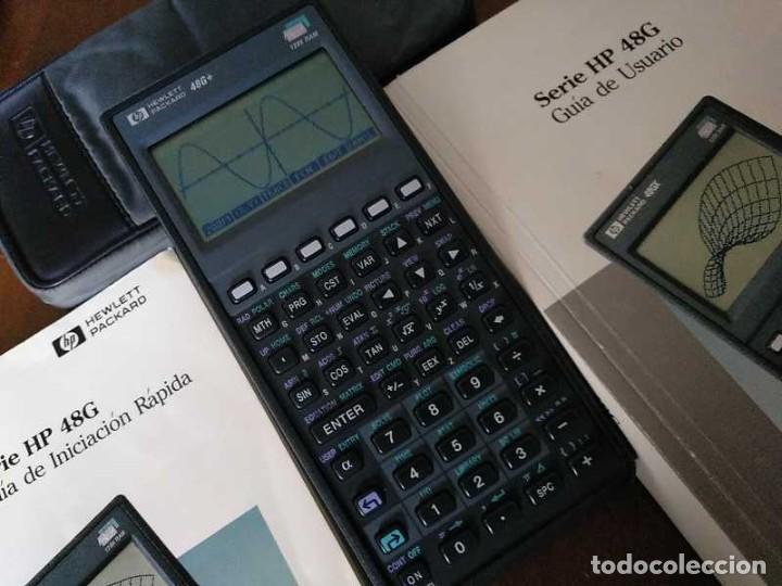 Antigüedades: CALCULADORA HP 48G+ HEWLETT PACKARD 128K RAM 1993 RPN FUNCIONANDO CON FUNDA MANUALES INSTRUCCIONES - Foto 41 - 248802725