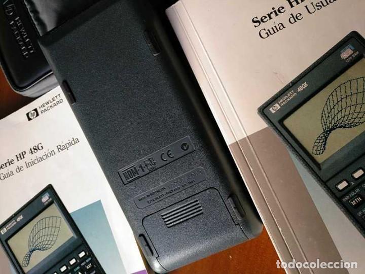 Antigüedades: CALCULADORA HP 48G+ HEWLETT PACKARD 128K RAM 1993 RPN FUNCIONANDO CON FUNDA MANUALES INSTRUCCIONES - Foto 46 - 248802725