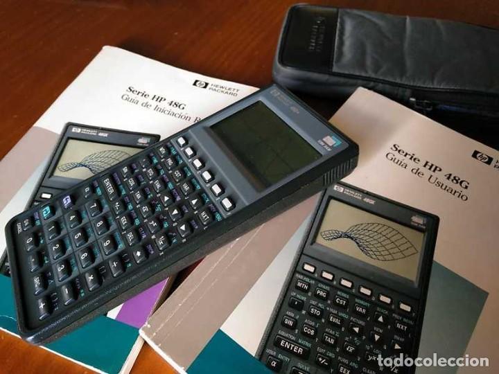 Antigüedades: CALCULADORA HP 48G+ HEWLETT PACKARD 128K RAM 1993 RPN FUNCIONANDO CON FUNDA MANUALES INSTRUCCIONES - Foto 53 - 248802725