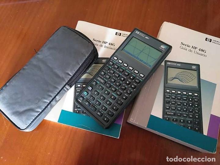 Antigüedades: CALCULADORA HP 48G+ HEWLETT PACKARD 128K RAM 1993 RPN FUNCIONANDO CON FUNDA MANUALES INSTRUCCIONES - Foto 54 - 248802725