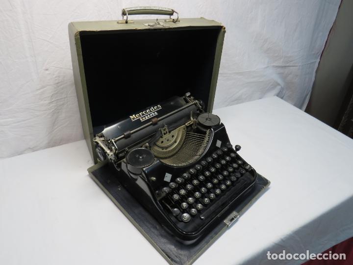 MERCEDES SUPERBA MAQUINA ESCRIBIR (Antigüedades - Técnicas - Máquinas de Escribir Antiguas - Mercedes)
