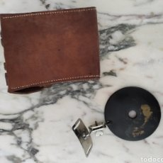 Antigüedades: ESPEJO DE CABEZA FRONTAL MÉDICO DE LA GUERRA CIVIL. Lote 248978990