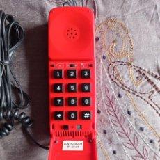 Teléfonos: TELÉFONO FIJO DE TIPO BENJAMÍN, MARCA TELESTE. DE COLECCIÓN, MUY RARO DE ENCONTRAR.. Lote 249012110