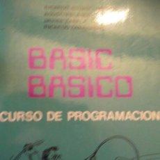 Antiquités: LIBRO BASIC BASICO CURSO DE PROGRAMAS. Lote 249029755